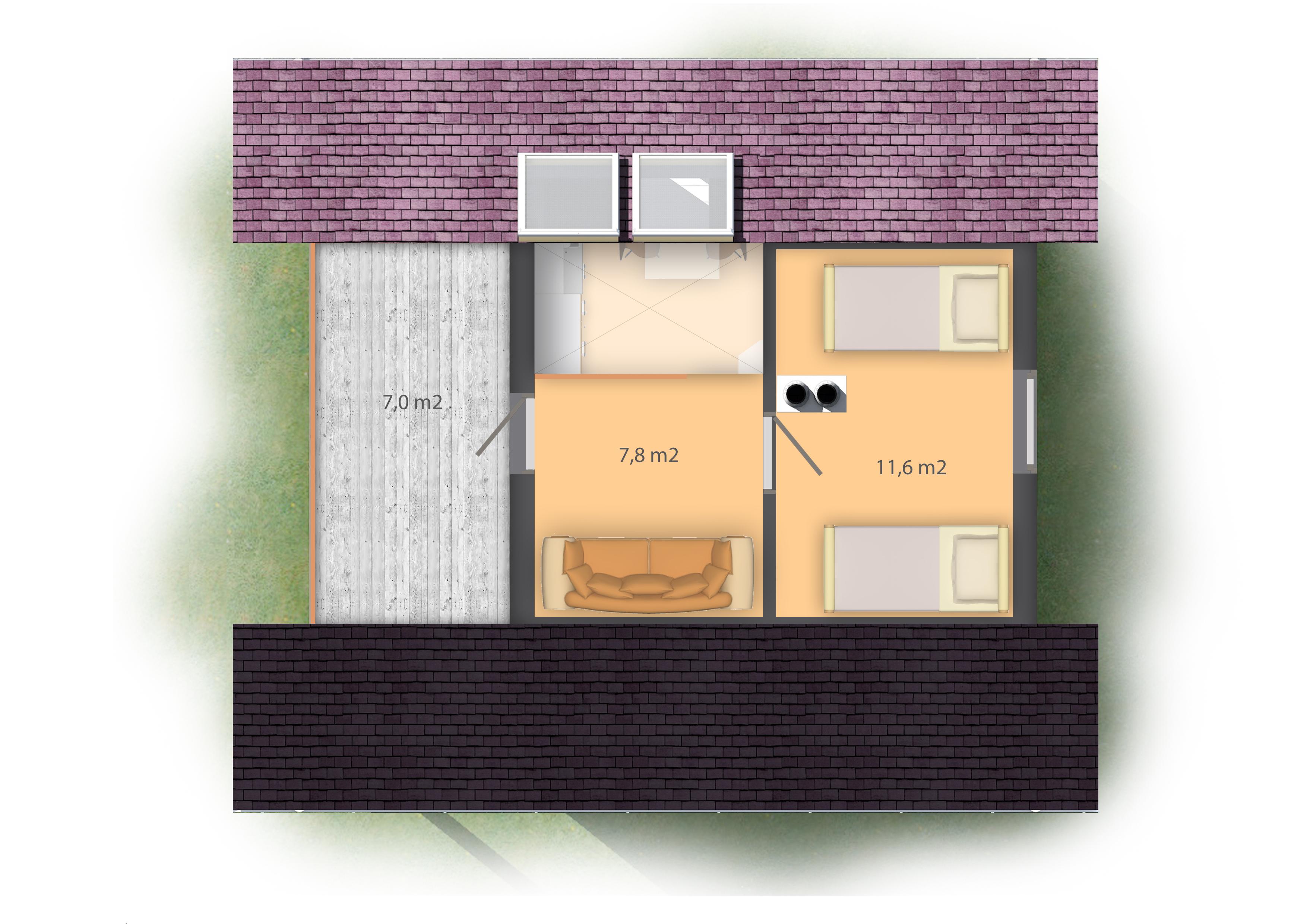 SMALL HOUSE PLANE SH53