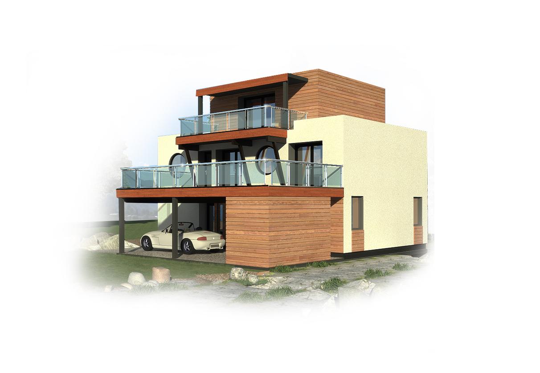 MODERN HOUSE PLAN SH170