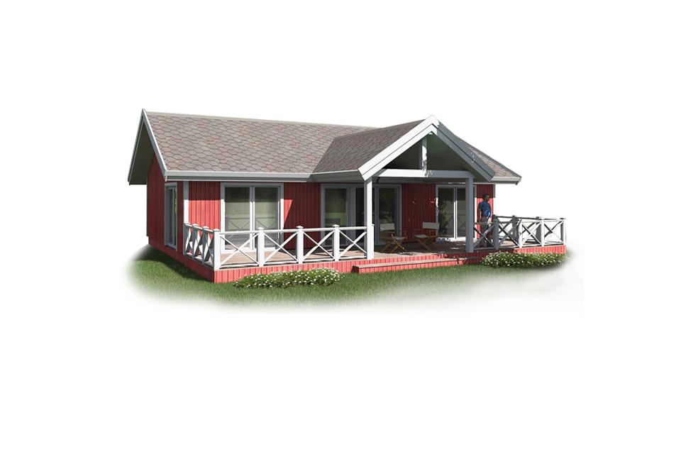 SMALL HOUSE PLAN SH50