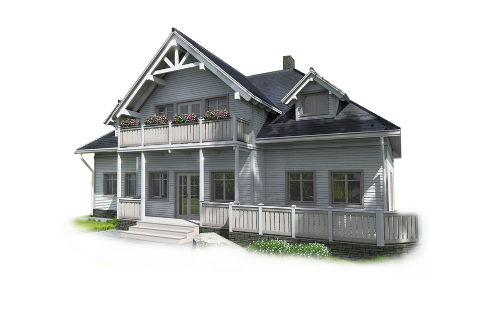 CLASSICAL HOUSE PLANE SH245